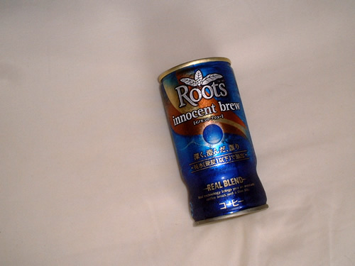 canned coffee roots innocent brew