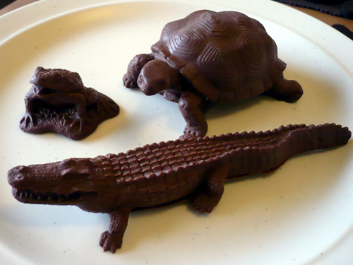 chocolate reptiles and amphibians