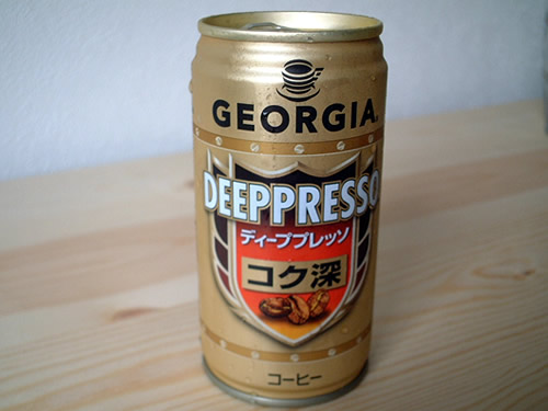 canned coffee japan