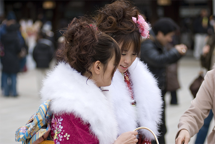 coming of age day meiji shrine tokyo