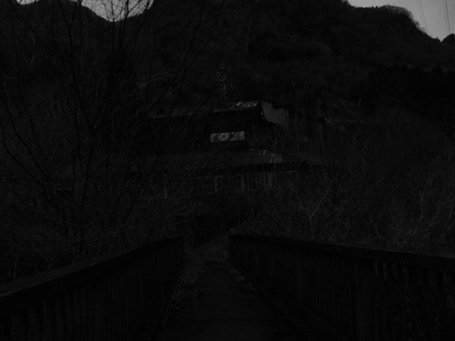 ghost town night bridge