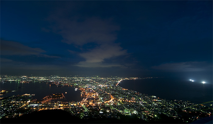 hakodate night view from Mt. Hakodate
