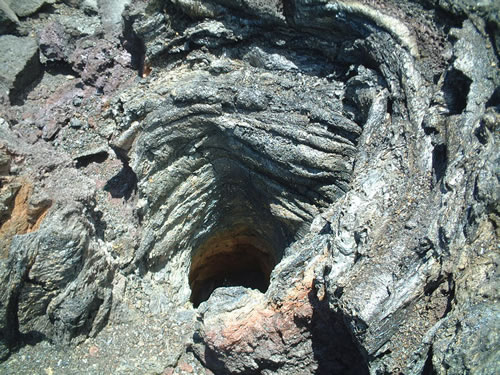 lava flow tree hole