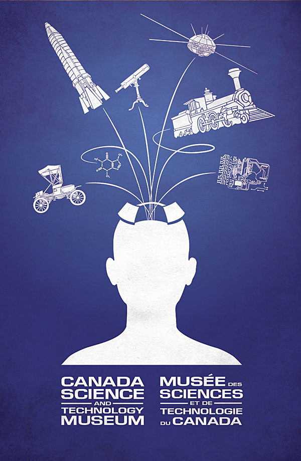 canada museum science technology campaign poster