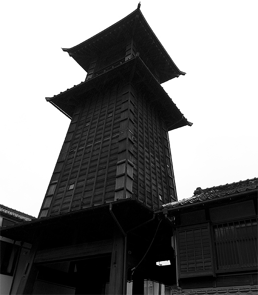 kawagoe tower little edo
