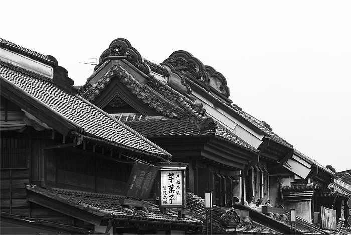 kawagoe little edo roof