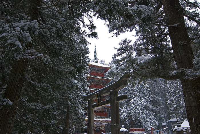 nikko toshogu shrine winter