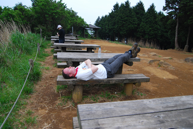 ooyama mike resting